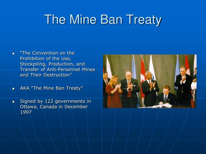 The Mine Ban Treaty