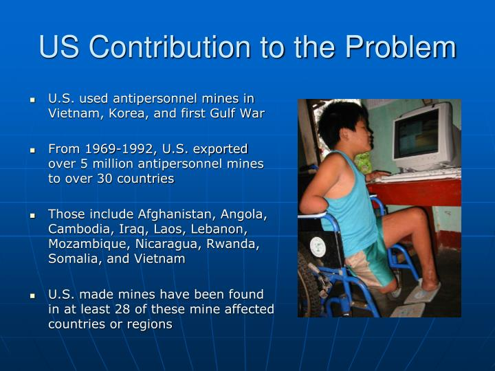 US Contribution to the Problem