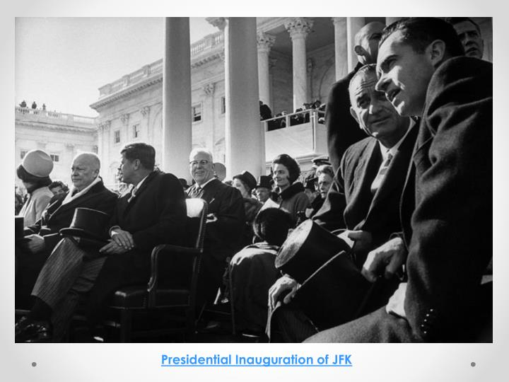 Presidential Inauguration of JFK