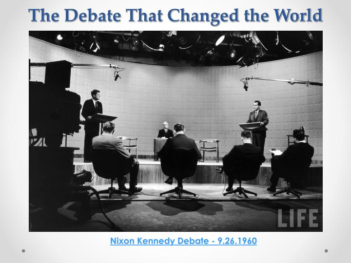 The Debate That Changed the World