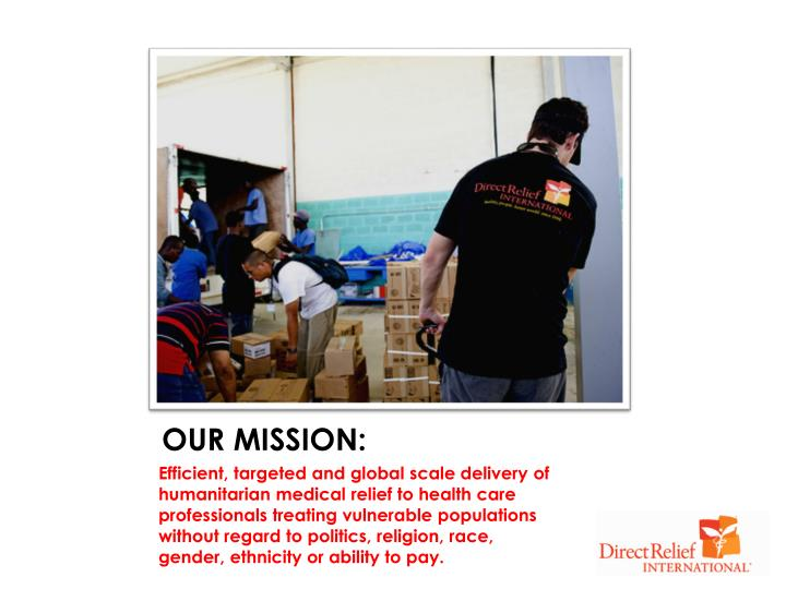 OUR MISSION: