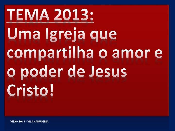 TEMA 2013: