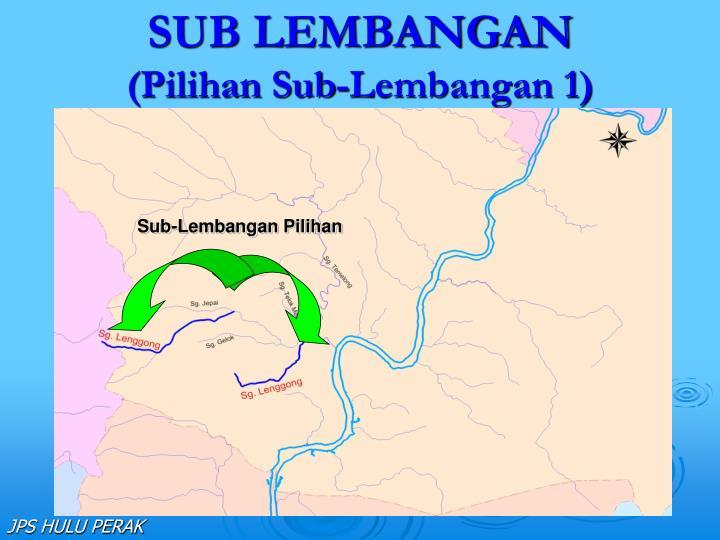 SUB LEMBANGAN