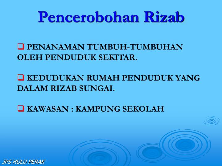Pencerobohan Rizab
