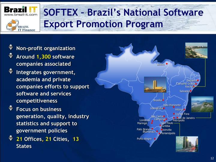 SOFTEX – Brazil's National Software Export Promotion Program