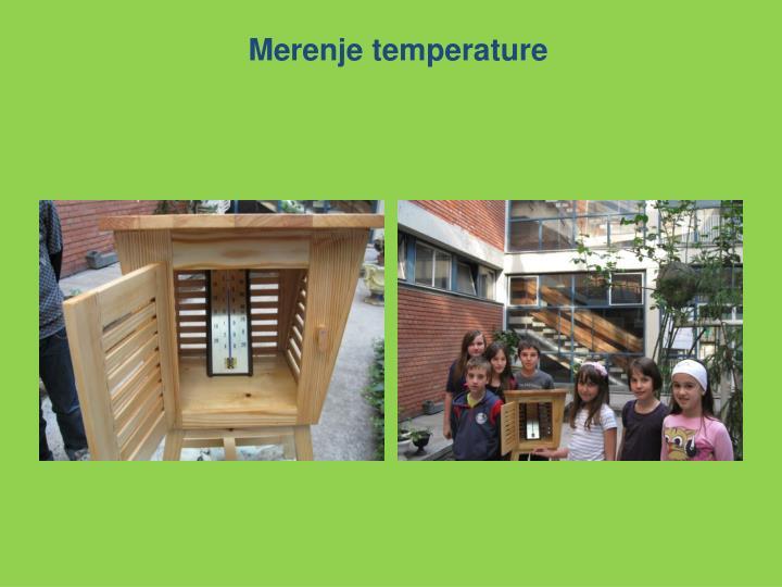 Merenje temperature