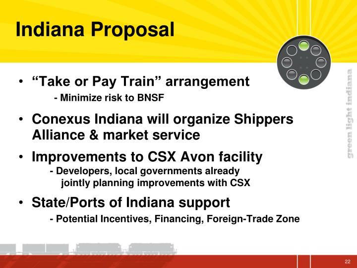 Indiana Proposal