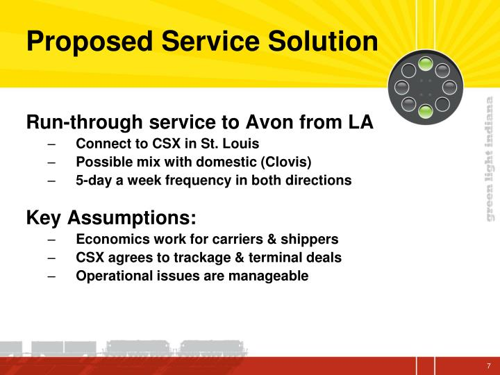 Proposed Service Solution