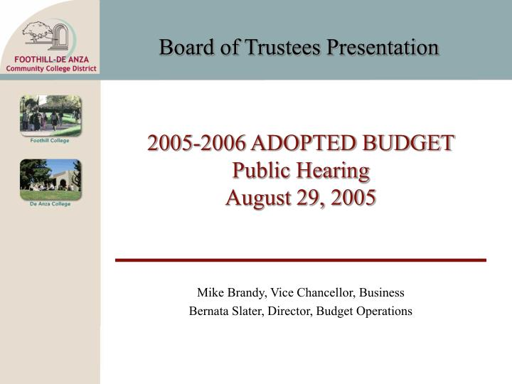 2005 2006 adopted budget public hearing august 29 2005 n.