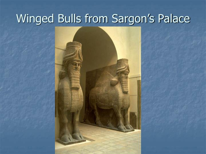 Winged Bulls from Sargon's Palace
