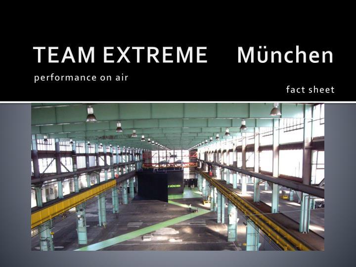 team extreme m nchen n.