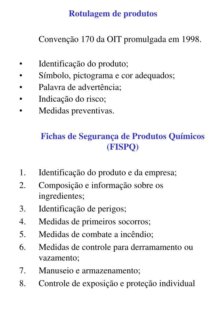 Rotulagem de produtos