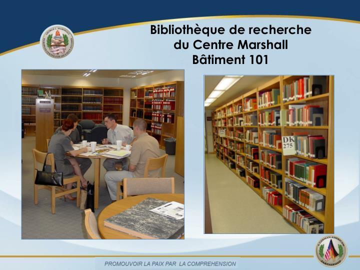 Bibliothèque de recherche