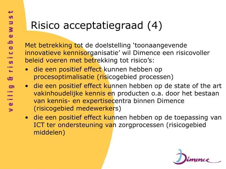 Risico acceptatiegraad (4)