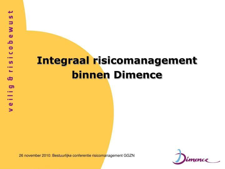 Integraal risicomanagement