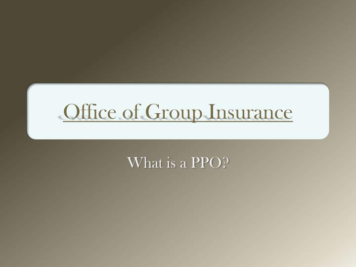 office of group insurance n.