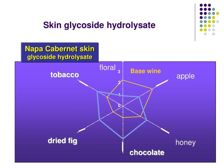 Skin glycoside hydrolysate