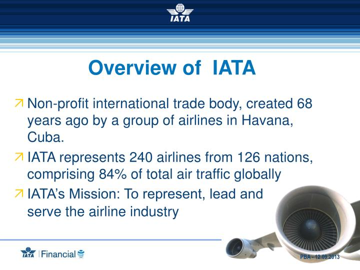 Overview of  IATA