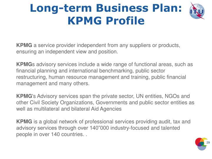 Long-term Business Plan: