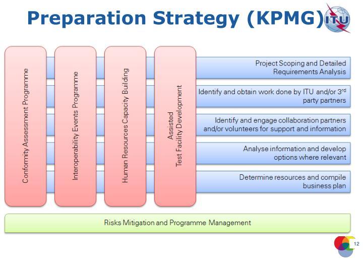Preparation Strategy (KPMG)