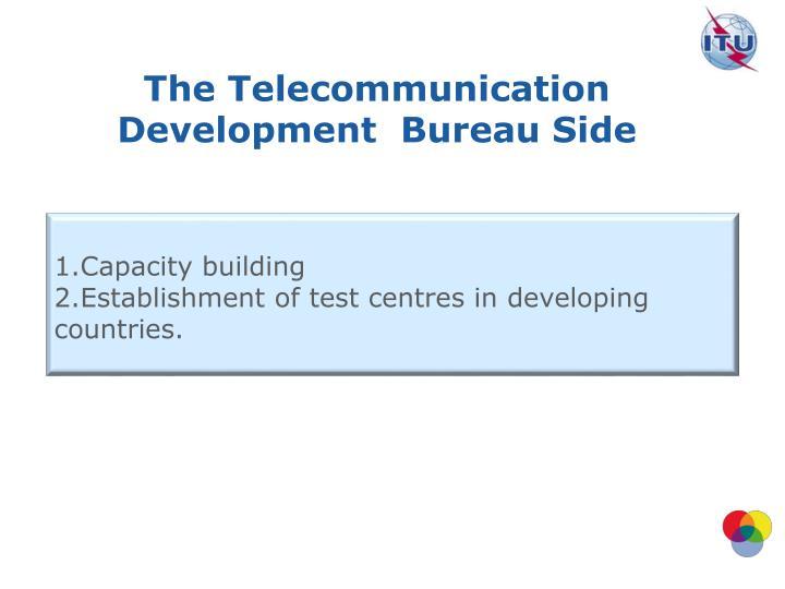 The Telecommunication Development