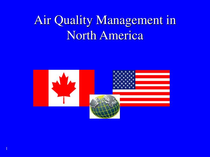 air quality management in north america n.