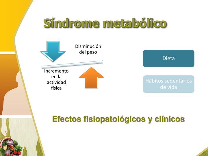 Efectos fisiopatológicos y clínicos