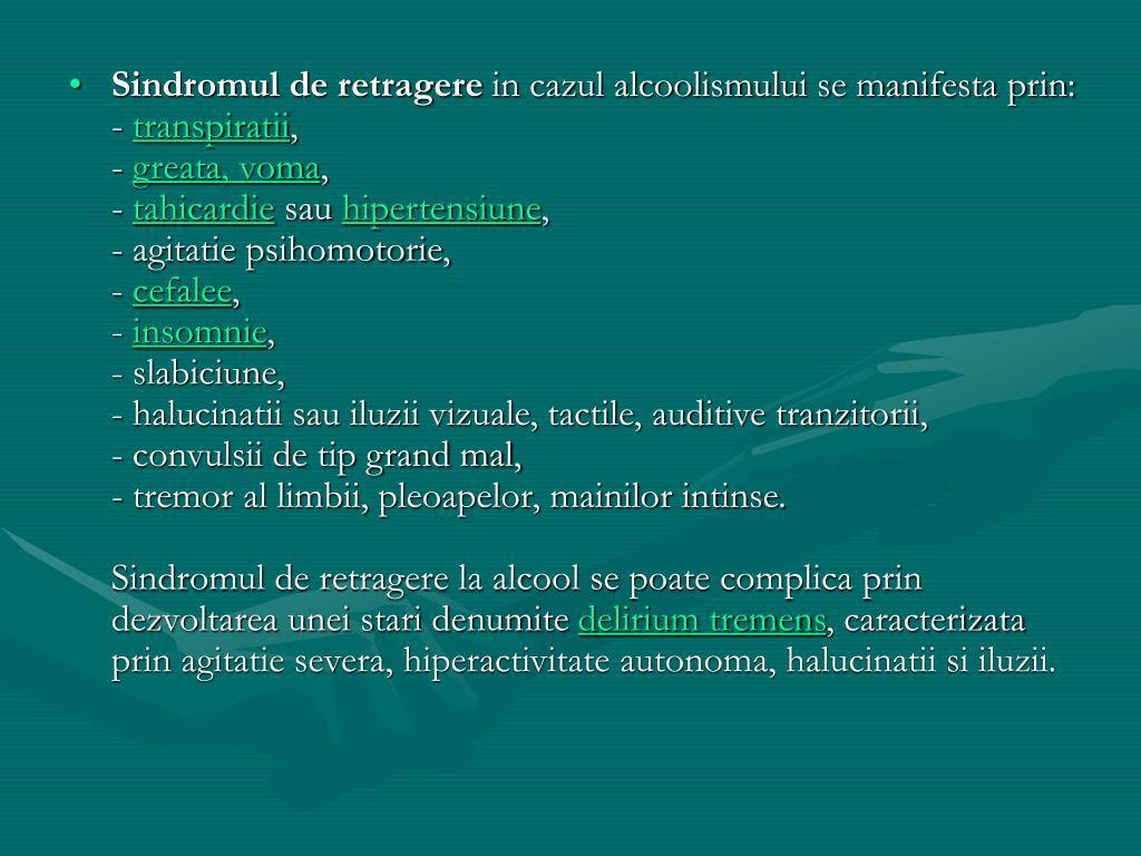 sindromul agitat al întregului corp