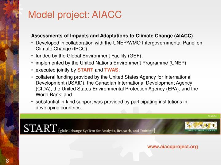 Model project: AIACC