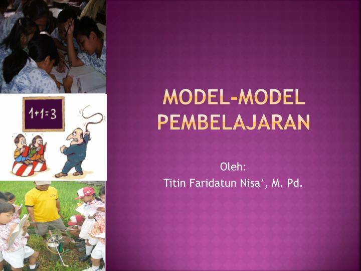 model model pembelajaran n.