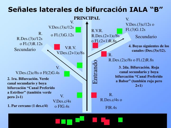 4. Boyas siguientes de los canales (Des.(3)c/12).