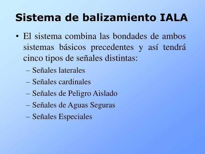 Sistema de balizamiento IALA