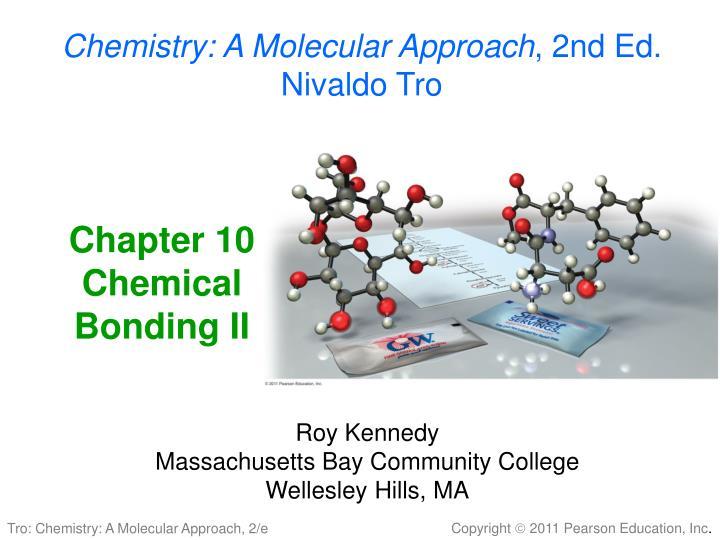 chapter 10 chemical bonding ii n.