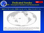 dedicated sondes arm atmospheric radiation and measurement