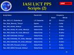 iasi l1ct pps scripts 2