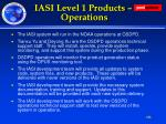 iasi level 1 products operations