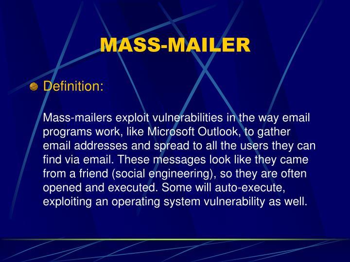 MASS-MAILER