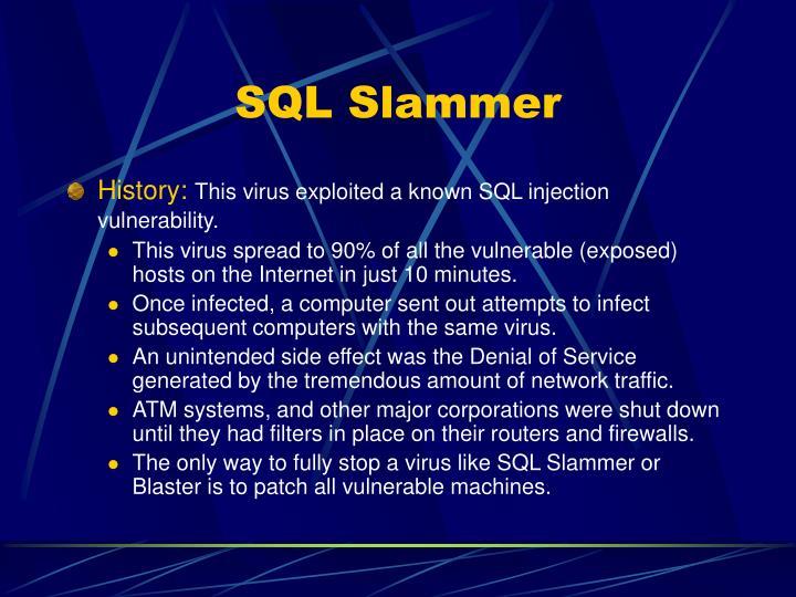SQL Slammer