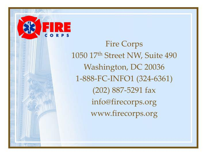 Fire Corps