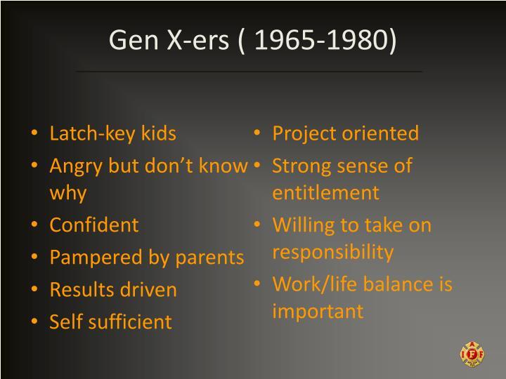 Gen X-