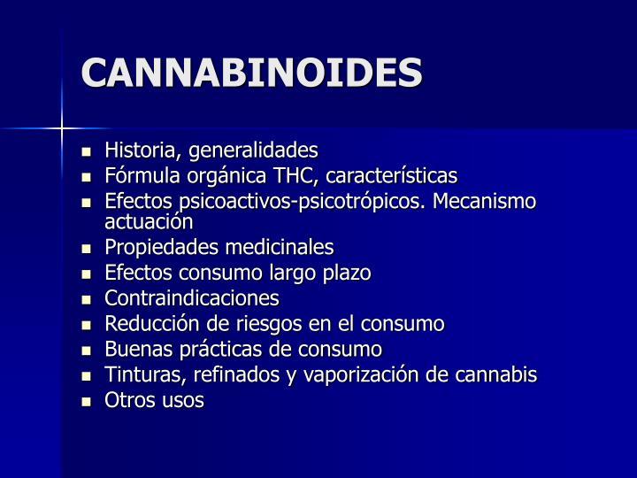 cannabinoides n.