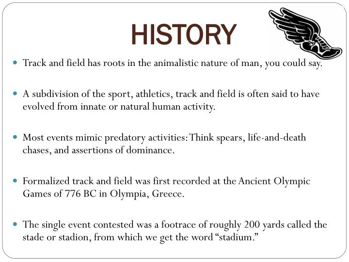 PPT - TRACK & FIELD PowerPoint Presentation