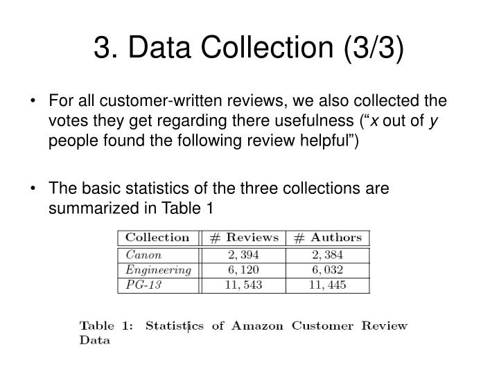 3. Data Collection (3/3)