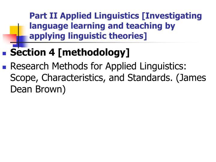 scope of applied linguistics Session 1 presented by: dr mohammad ghazanfari english language department fersdowsi university of mashhad drmohhamad ghazanfari applied linguistics.