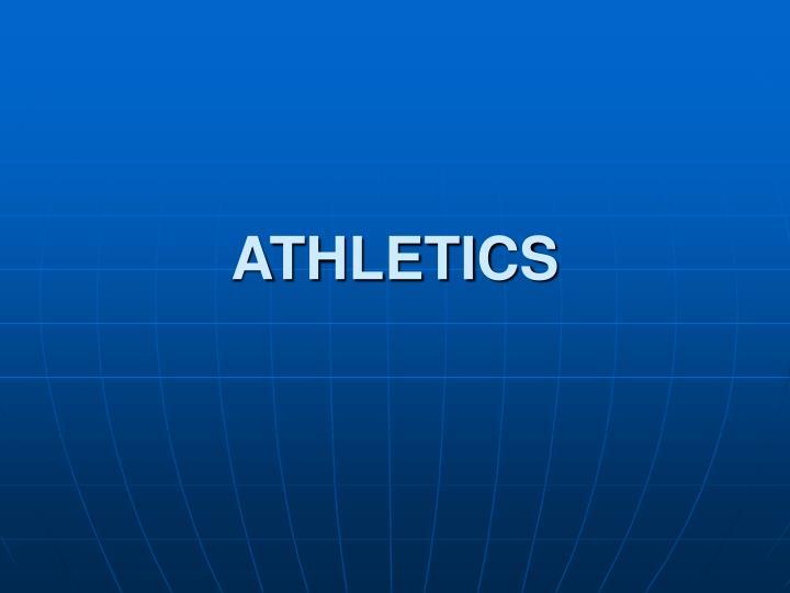 athletics n.