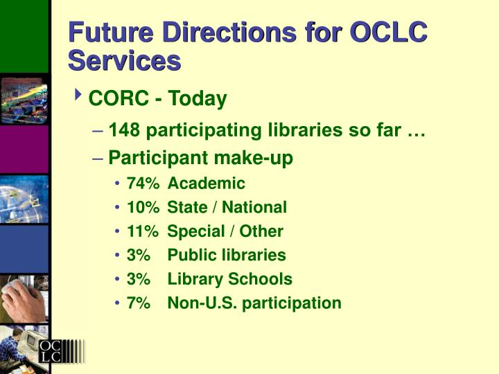 Future Directions for OCLC Services