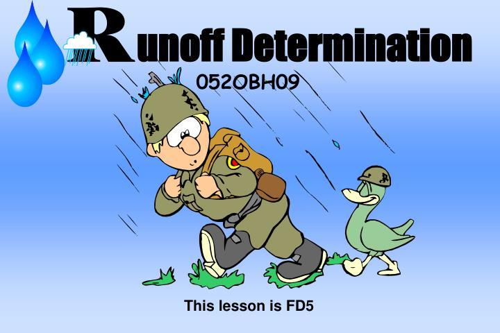 unoff determination n.