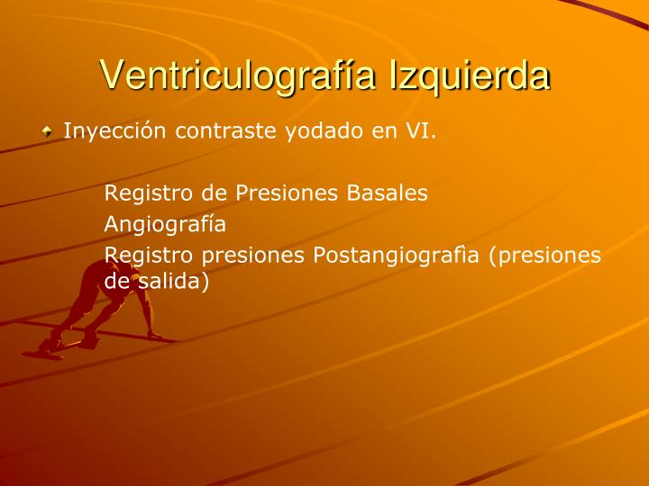 Ventriculografía Izquierda