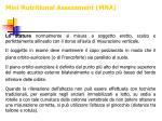 mini nutritional assessment mna12