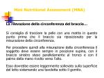 mini nutritional assessment mna17